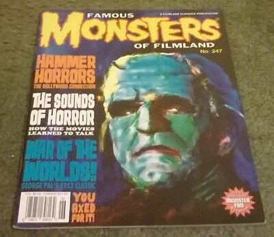 famous monsters of filmland #247,spring 2008,nm- grade,bagged & boarded