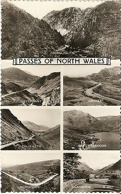 Picture Postcard The Passes of North Wales