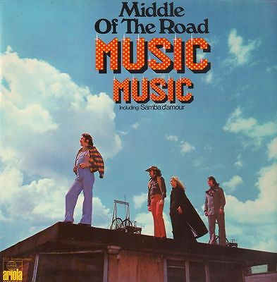 Middle Of The Road Music Music Ariola Vinyl LP
