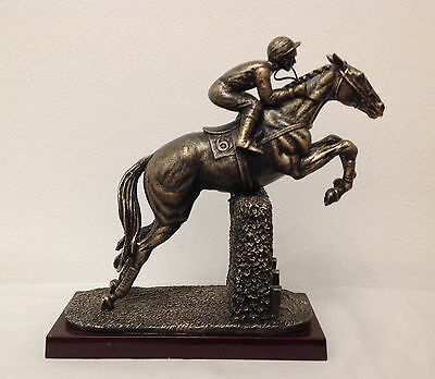 A Horse Racing Figure of Desert Orchid