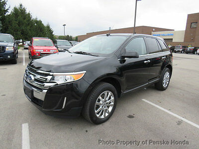 2013 Ford Edge 4dr Limited AWD 4dr Limited AWD SUV Automatic Gasoline V6 Cyl BLACK
