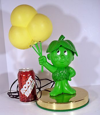 Vintage 1986 Pillsbury SPROUT Jolly Green Giant TOUCH LAMP Works