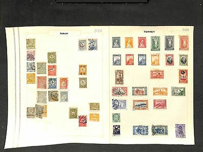 g533-Turkey Collection-Mint & Used