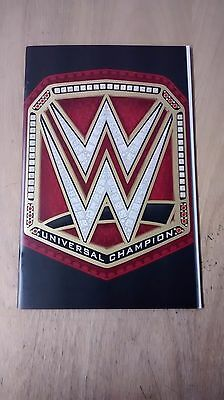 WWE #1 UNIVERSAL CHAMPIONSHIP BELT FOIL PARTY VARIANT FROM BOOM 2017 Hopeless