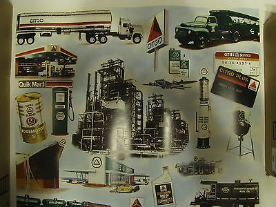 Cities Service Oil Co./Citgo Petroleum 50th Anniversary Poster-22 X 25-NOS-1994