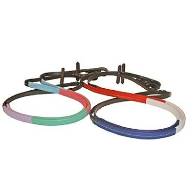 Multi Coloured Rubber grip Training Reins ( Pony horse cob full childs JHL )