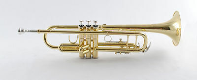 Schiller American Heritage 74 Trumpet Gold Lacquer