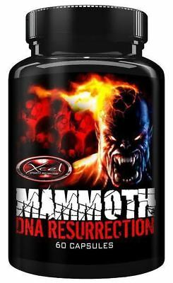Xcel Sports Nutrition Mammoth DNA Resurrection, 60 Capsules - NEW