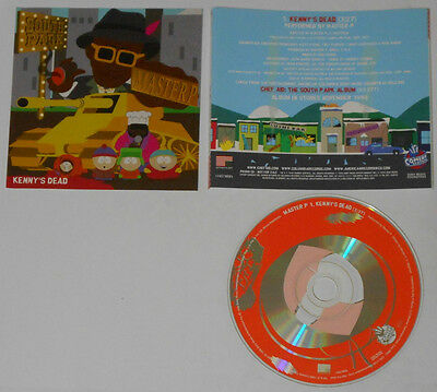 Master P  Kenny's Dead  South Park  1998 U.S. promo cd