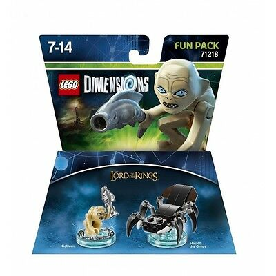 Gollum (Lord of the Rings) Lego Dimensions Fun Pack Brand New