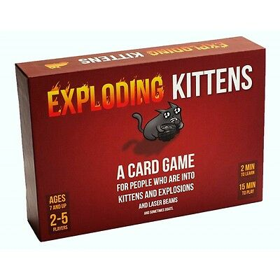 Exploding Kittens A Card Game Original Edition Brand New