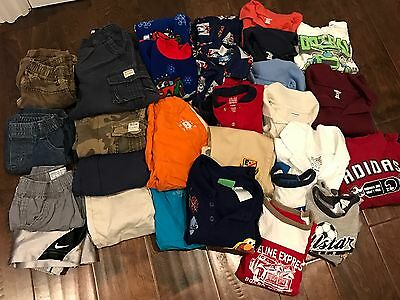 toddler boys clothing Lot Of 34 Pieces Boys Clothing Size 18 Months, 24 Mths 2T