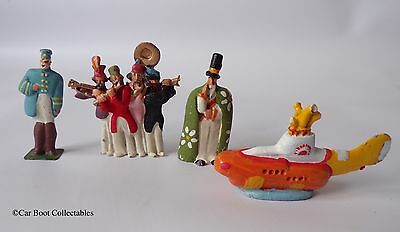 Little Lead Soldiers - The Beatles Yellow Submarine - Metal Figure set