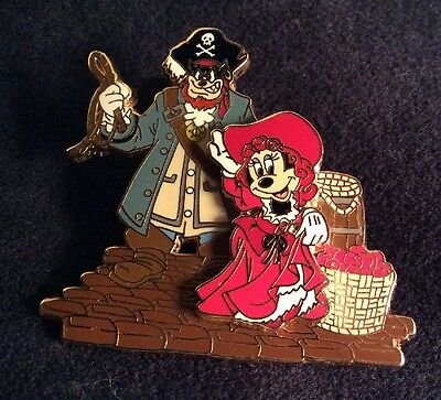 Pirates If The Caribbean WDW Ride Pete Selling The Redhead Minnie Disney Pin