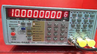 RACAL-DANA 1992 Nanosecond Universal Counter with GPIB Option AS-IS
