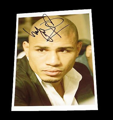 Miguel Cotto Autographed Boxing Photo Very Rare In Stock Now