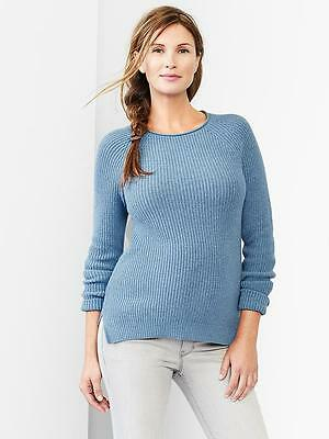 GAP Maternity Women Ribbed Pullover Sweater Size XS S L NwT $49.95