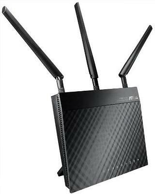 ASUS RT-N66U - Wireless Router - 4-Port-Switch