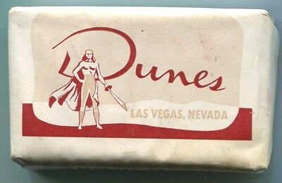 Las Vegas Nv DUNES Casino Soap Bar from the opening