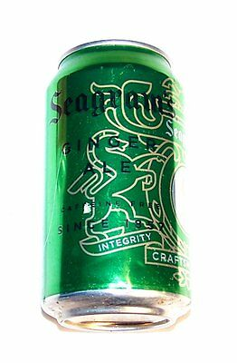Early Seagrams Ginger Ale Tab Pull Top Soda Pop Can Cone Tab Soda VO Whiskey Ofr