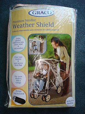 NEW - GRACO Premium Stroller Weather Shield - Style #10185