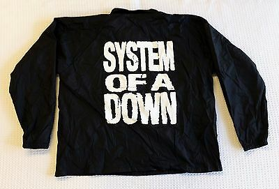 System Of A Down Promo Windbreaker Jacket Soad Promotional Unworn Nwt Size Xl
