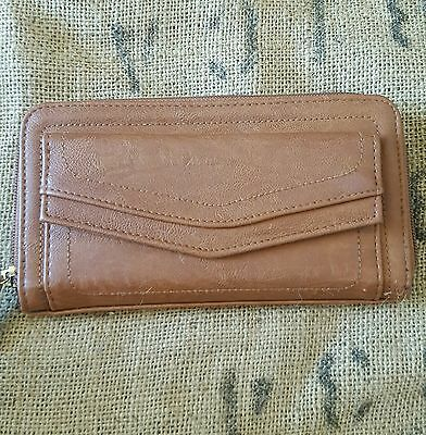 Brown tan Bluebird women's purse / wallet, like new