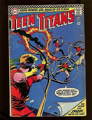 Teen Titans #4 VG Cardy Speedy Robin Kid Flash