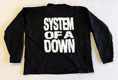 System Of A Down Promo Windbreaker Jacket Soad Promotional Unworn Nwt Size 2Xl
