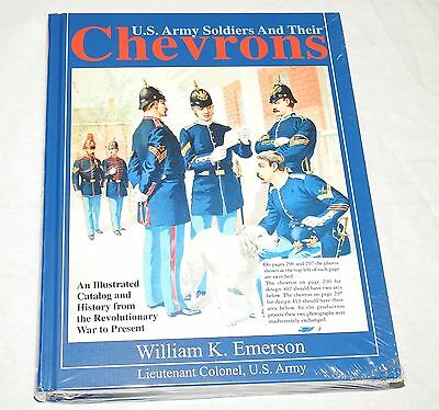 """""""u.s. Army Soldiers And Their Chevrons"""" Civil War Ww1 Ww2 Reference Book Mint"""
