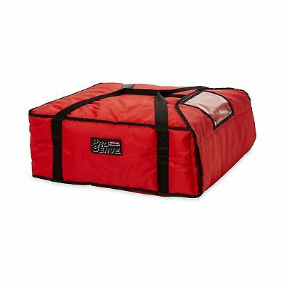 Rubbermaid Commercial ProServe Professional Pizza Delivery Bag Large Red FG9F...