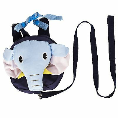 Baby Kid Toddler Keeper Walking Safety Harness Backpack Leash Strap Bag (... New