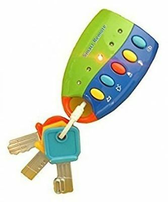 Flash Musical Smart Remote Car Key chain - Baby Toy (12 Months+)