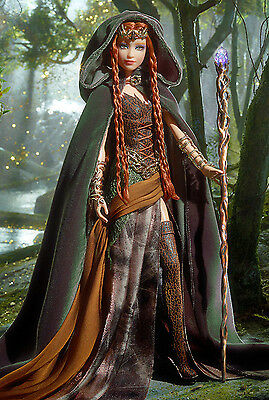 2014 Faraway Forest Elf Barbie*1St In New Collection*gold Label*new In Shipper*