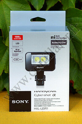 Sony HVL-LEIR1 - Torche LED & infra rouge (IR)