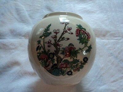 Beautiful Floral  Sadler Pottery Vase England