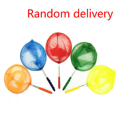 Kids Extendable Fishing Net Telescopic Handle Butterfly Insect Fish Fun Toy New