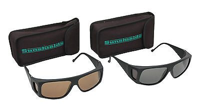 SUNSHIELDS Emerald Sailing Sports Lightweight Frame Tinted Polarised Sunglasses