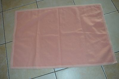 THERMOBABY =  Couverture rose 107*73 cm  LAU  100%acrylique