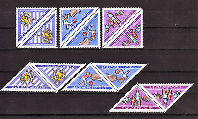 HUNGARY - 1964. Road Safety - tete-beche variations - MNH (#3710)
