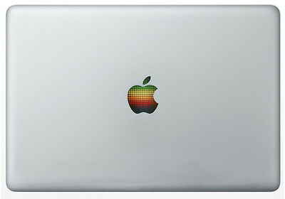 LED RAINBOW [DISCO DOTS] APPLE Laptop Vinyl Sticker for MacBook [Fits all sizes]
