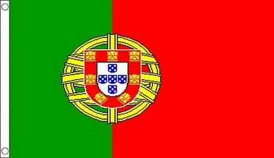 PORTUGAL FLAG 5' x 3' Portuguese Europe Flags