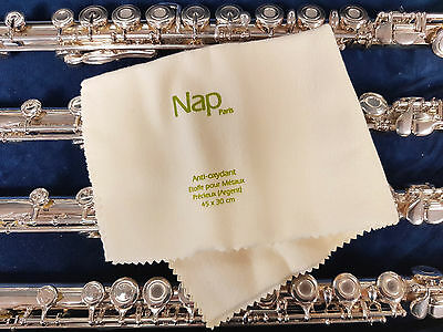 Cloth NAP for cleaning silverware et silvering of musical instruments