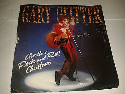 "Gary Glitter - ""Another Rock And Roll Christmas""  7"" (1984) EX  / ARIST 592"