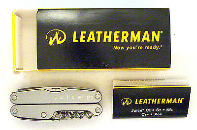 Leatherman Juice Pro- New in Box, retired, rare, collectible.