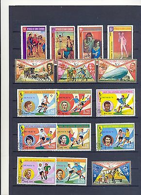 Guinea  old Stamp  look scan     Foodball 1974