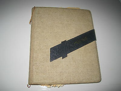 Ww2 Hitler Youth (Jungen) Personal Posie Seemingly Autograph Book