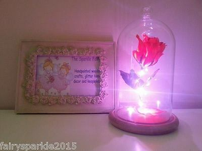 Beauty And The Beast Enchanted Rose valentines day engagement