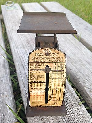 IDL DELUXE THRIFTY Postal Scale VINTAGE POSTAGE Antique COLLECTIBLE