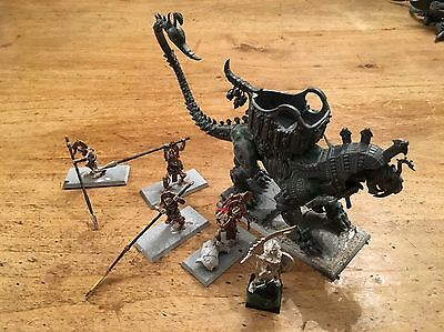 Warhammer Age Of Sigmar Tomb Kings Warsphinx With Crew And Tomb King, Converted